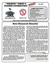 May 2009 Pest Control News