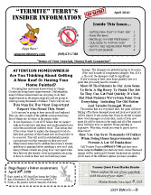 April 2010 Newsletter