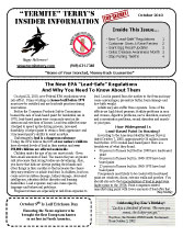 October Newsletter 2010