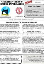 June 2013 Pest Control Newsletter