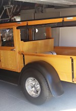 Model A Ford Huckster Fumigated for Termites