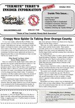 October 2016 Pest Control Newsletter