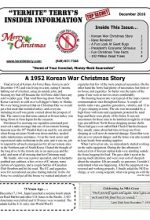 Pest Control Newsletter December 2016