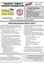 Pest Control Newsletter January 2017