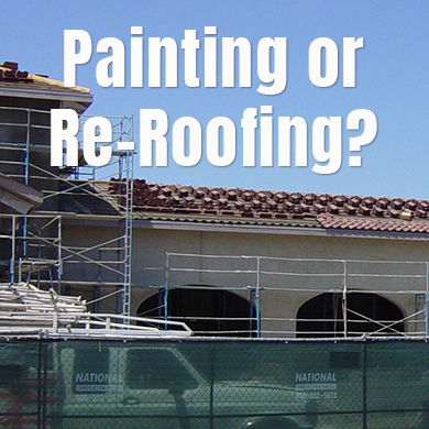 Painting-or-reroofing