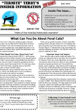 June 2013 Pest Control Newsletter