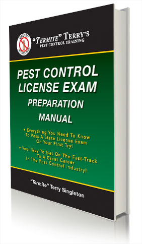 Pest Control License Exam Preparation manual