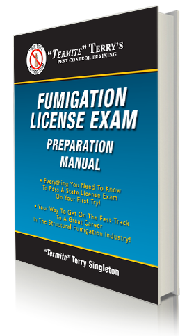 Strutural Fumigation License Exam Preparation manual