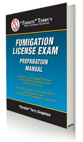 Strutural Fumigation License Exam Preparation manual