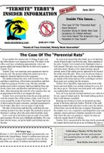 Pest Control Newsletter June 2017