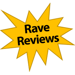 Rave Reviews burst